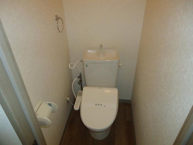 リヴィエールⅡ 00102号室のトイレ