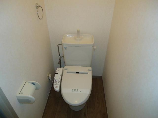 リヴィエールⅡ 00105号室のトイレ