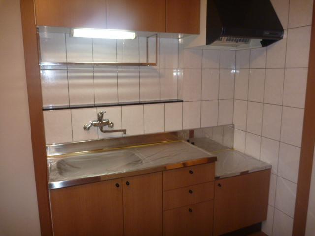 プレッソリーバ 101号室のキッチン