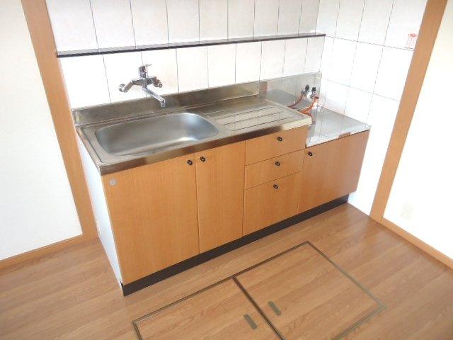 グランド・コート 103号室のキッチン