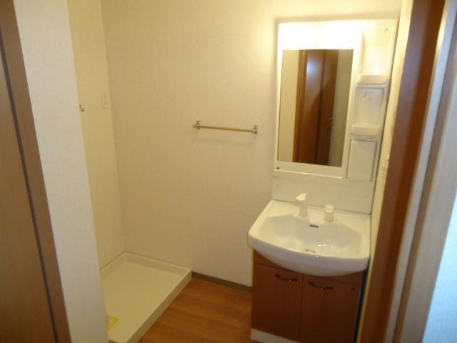グリーンコート 202号室の洗面所