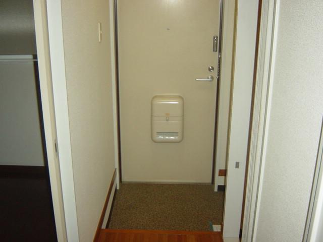 アストラル 205号室の玄関