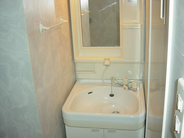 アストラル 205号室の洗面所