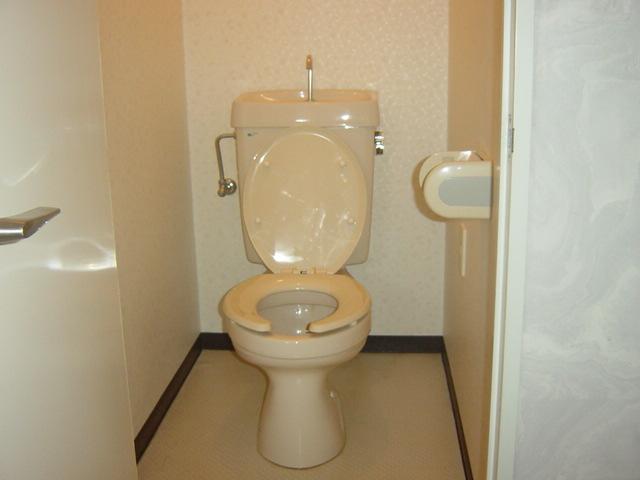 アストラル 205号室のトイレ