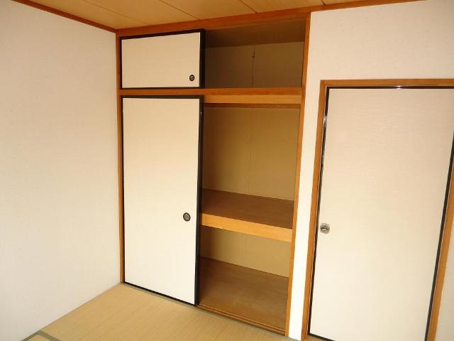 グリーンハイツ 201号室の収納