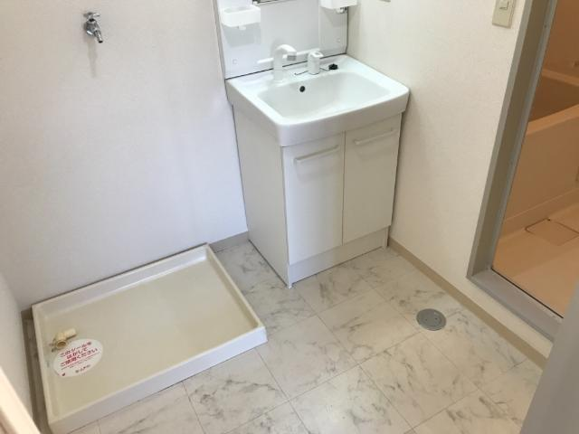 アストラル2 305号室の洗面所