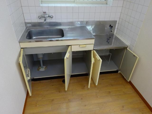 メゾンミヤマエ 202号室のキッチン