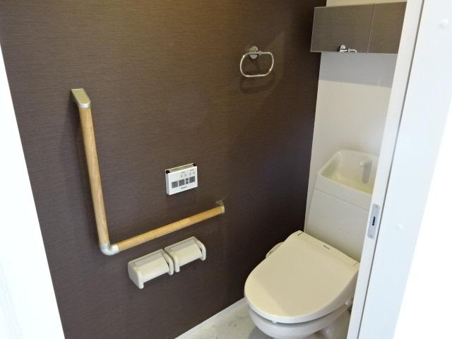 メルヴェーユ 103号室のトイレ