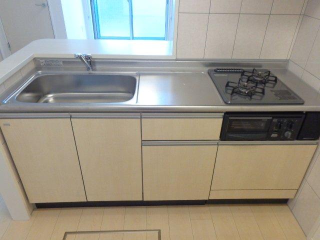 La Flore 201号室のキッチン