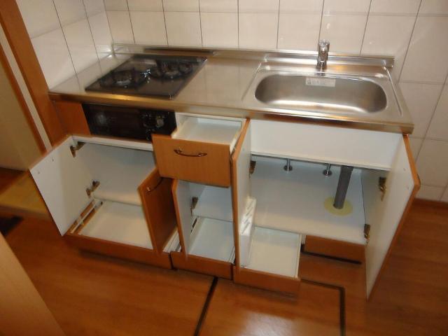 プロニティー 101号室のキッチン