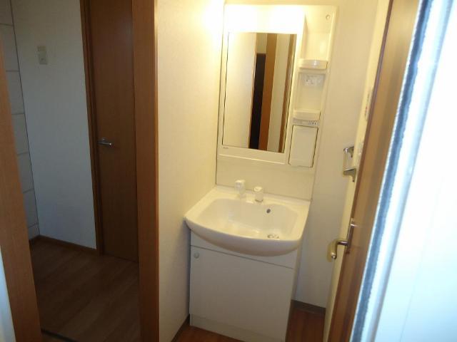 プロニティー 101号室の洗面所