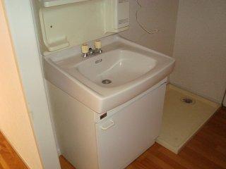 美春マンション 00301号室の洗面所