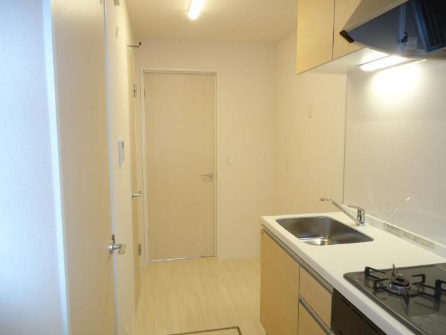 メゾンド・オウサム 101号室のキッチン