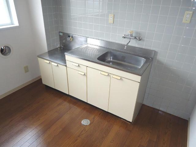 ルミナス田口 00101号室のキッチン