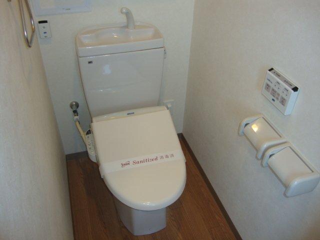 O-ZONE 知多 202号室のトイレ