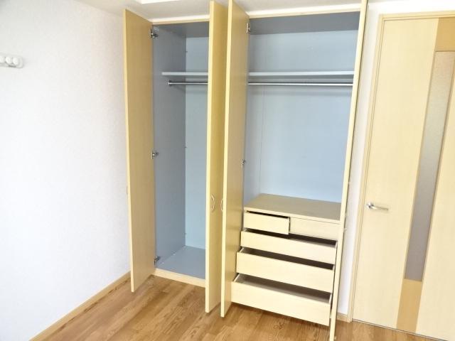 グランディア サリオ 101号室の収納