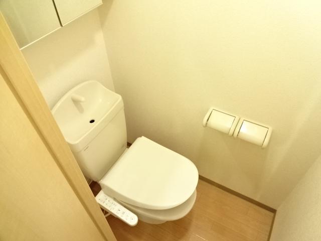 グランディア サリオ 101号室のトイレ