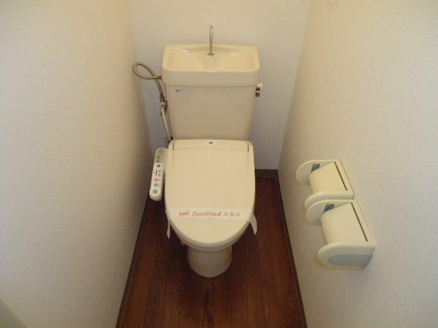 ハイツパークサイド 102号室のトイレ