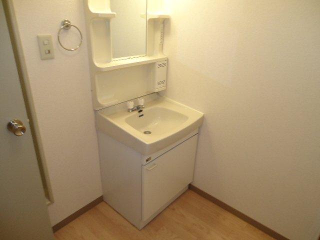 ハイツパークサイド 205号室の洗面所