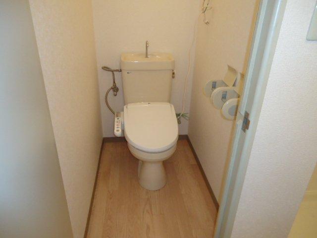 ハイツパークサイド 205号室のトイレ