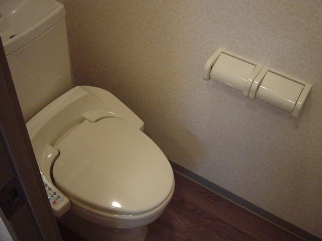 フォレスト粕川 C棟 206号室のトイレ