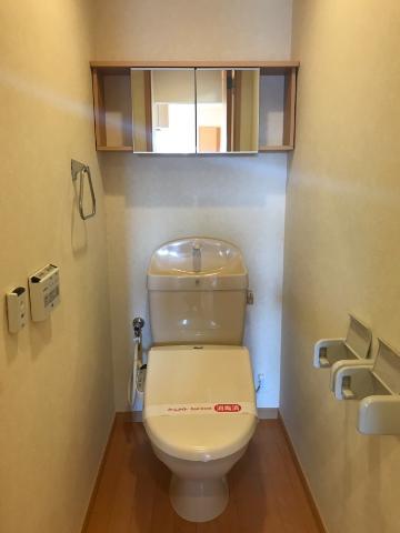 ワースファミリア 101号室のトイレ