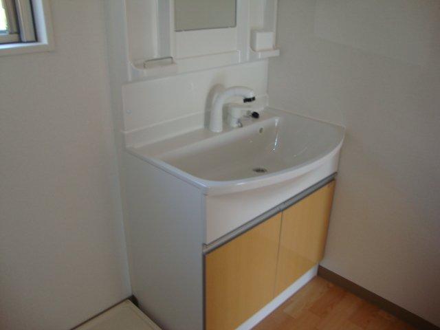 ムーンハイツ 102号室の洗面所