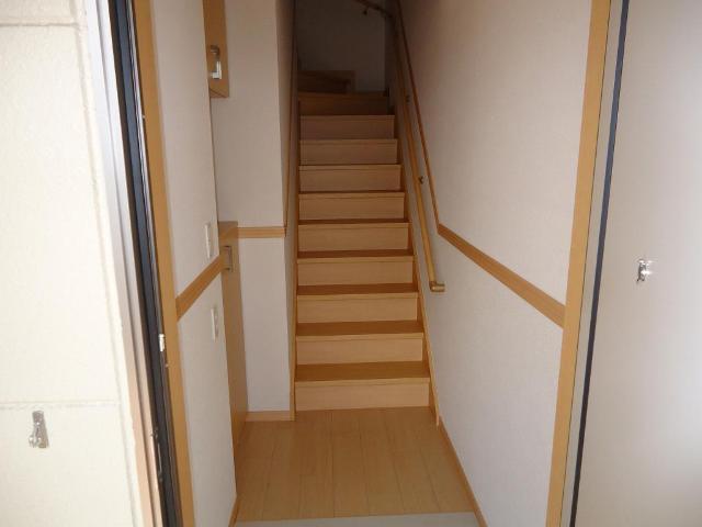 カーサ・コスモ 00201号室の玄関
