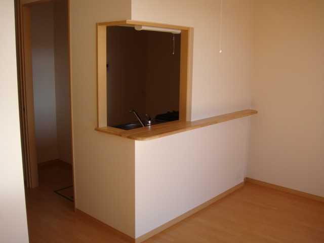ドラクロワ 00101号室のリビング