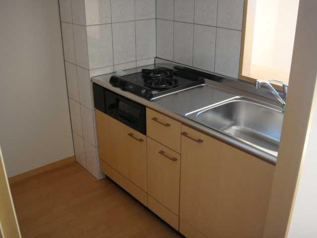 ドラクロワ 00101号室のキッチン