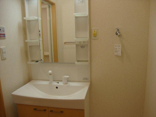 ドラクロワ 00101号室の洗面所