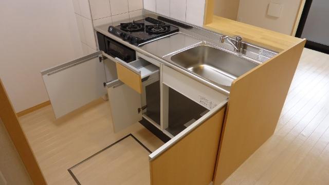 ヴァンヴェール 101号室のキッチン