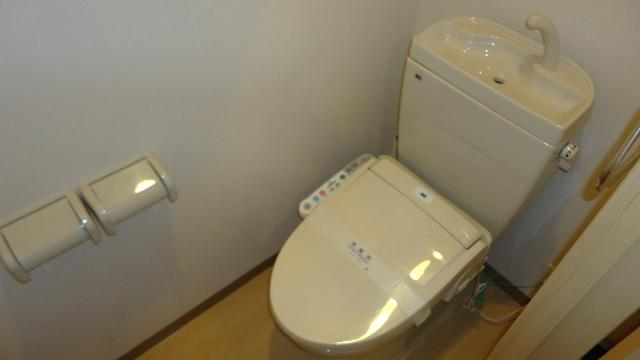 ヴァンヴェール 101号室のトイレ