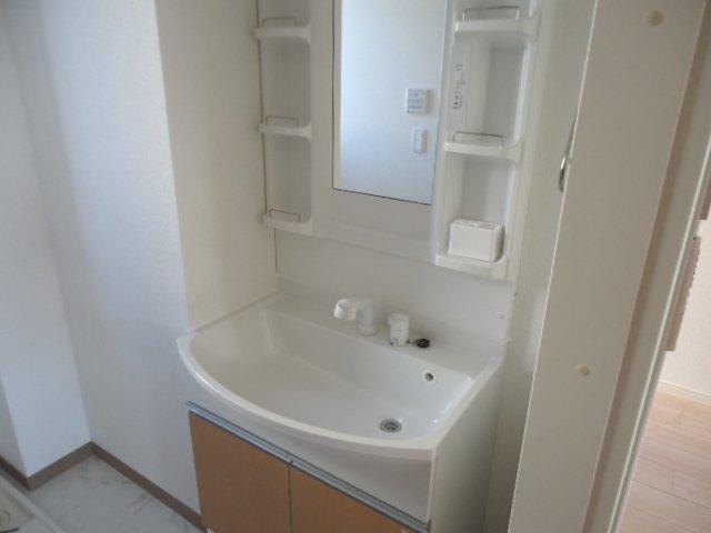 (仮)裾野市佐野アパート新築工事 102号室の洗面所