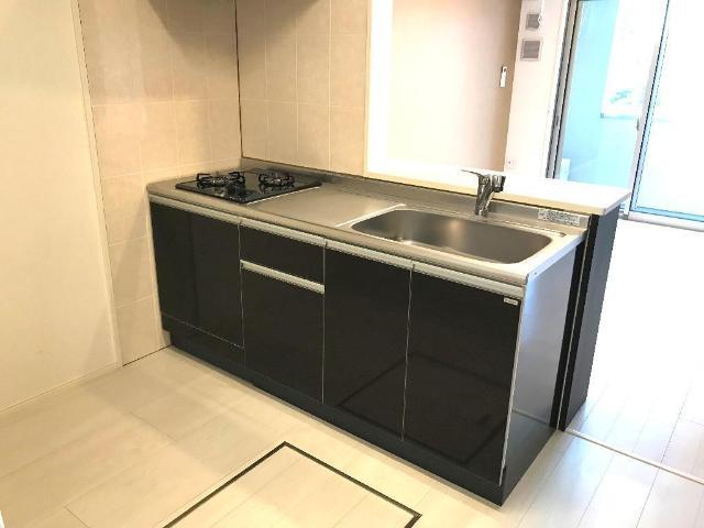 (仮)裾野市佐野アパート新築工事 203号室のキッチン
