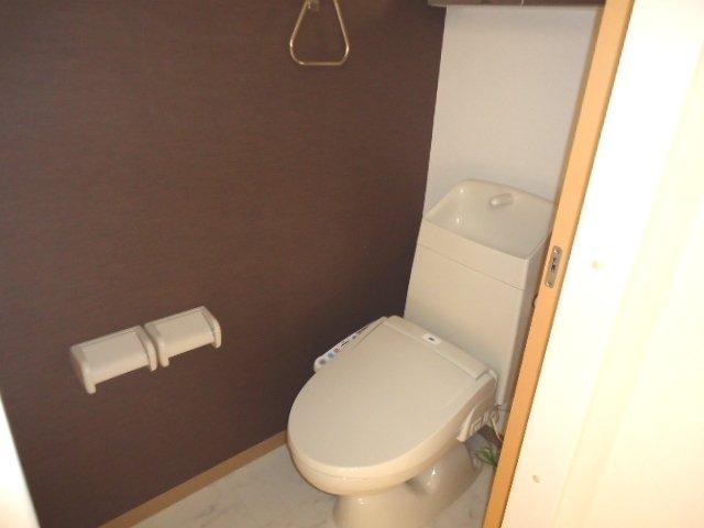 (仮)裾野市佐野アパート新築工事 203号室のトイレ