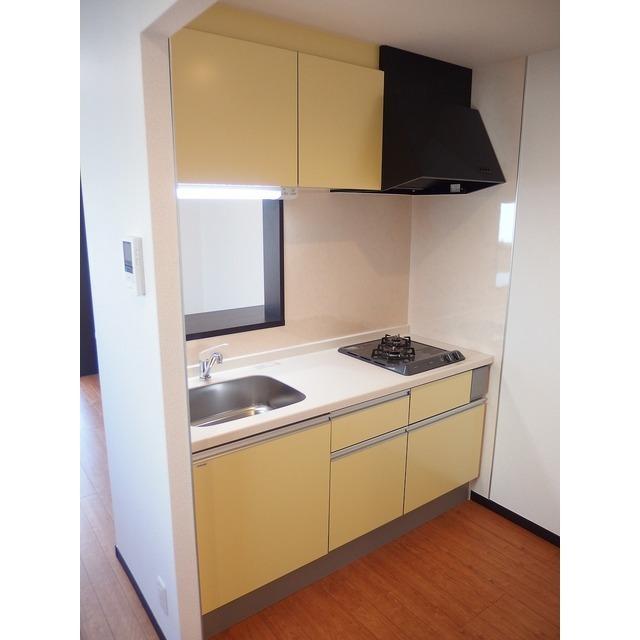 アムール Island 201号室のキッチン