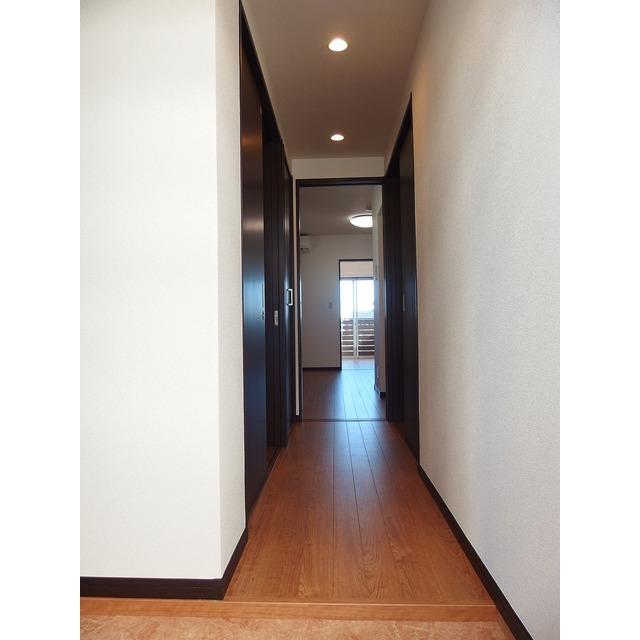 アムール Island 201号室の玄関