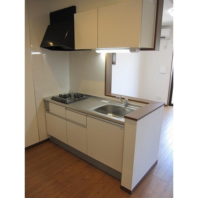 アムール 中央Ⅰ 201号室のキッチン