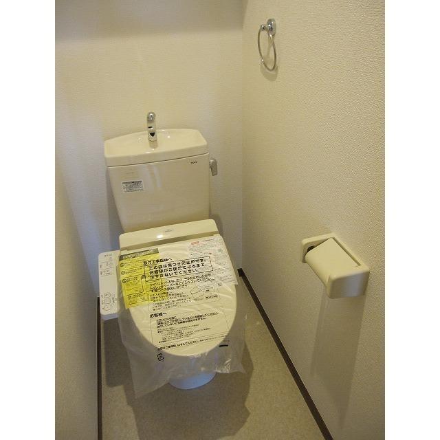 アムール 中央Ⅰ 201号室のトイレ