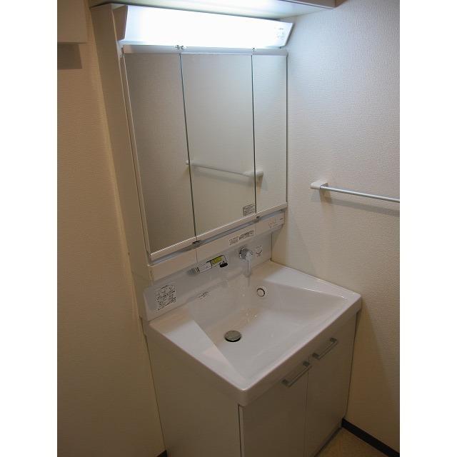 アムール 中央Ⅰ 201号室の洗面所