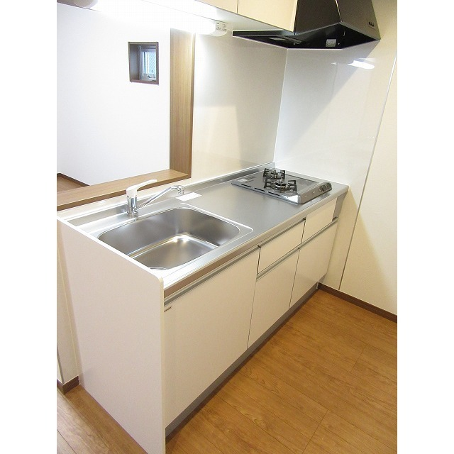 アムール 中央Ⅱ 101号室のキッチン