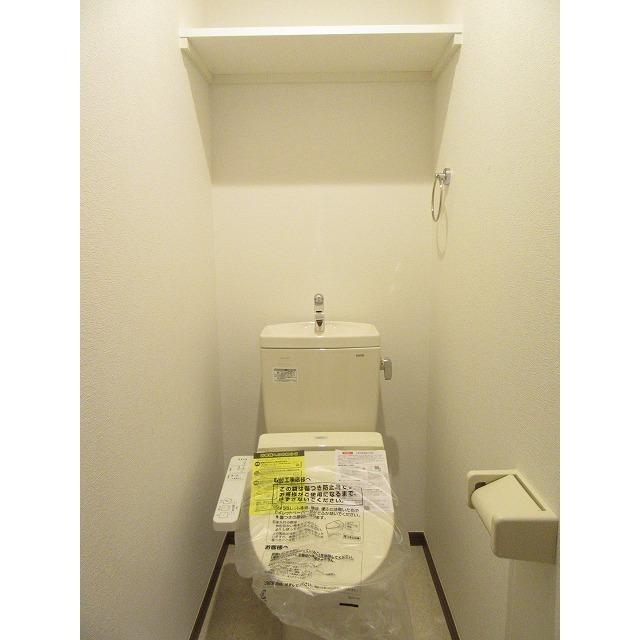 アムール 中央Ⅱ 101号室のトイレ