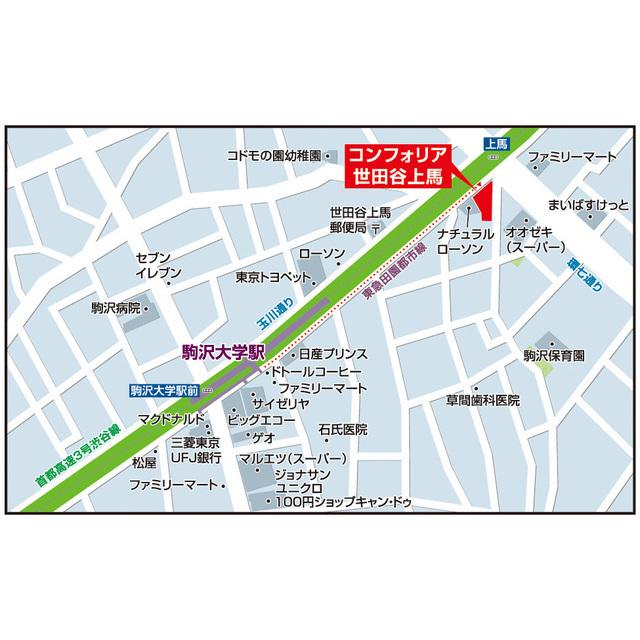 コンフォリア世田谷上馬 0601号室の風呂