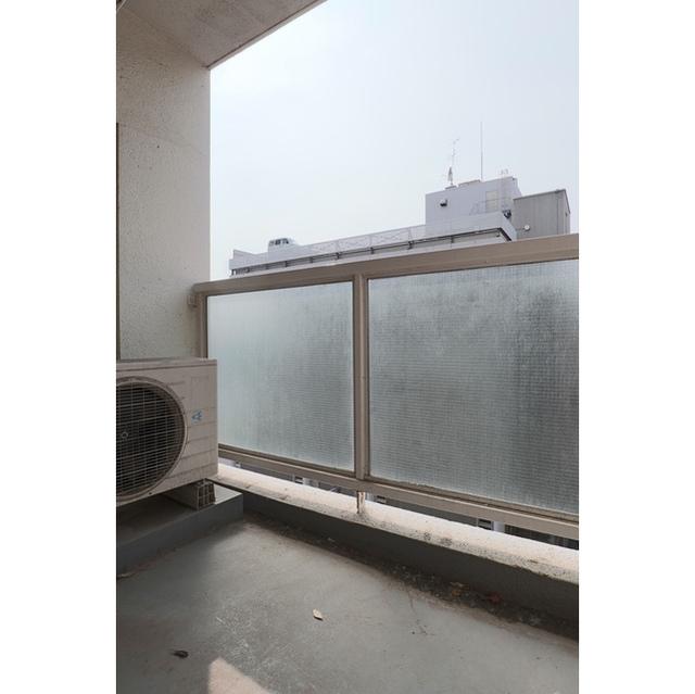 黎明スカイレジテル 626号室のバルコニー