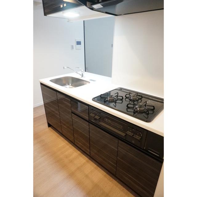 Dimus品川戸越 204号室のキッチン