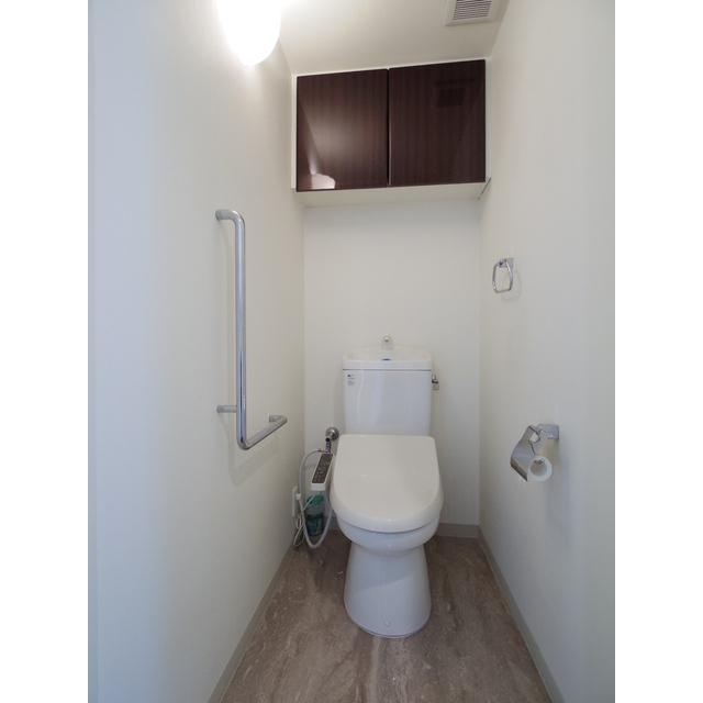 スカイレジデンシャルタワーズノースウイング 12F号室のトイレ