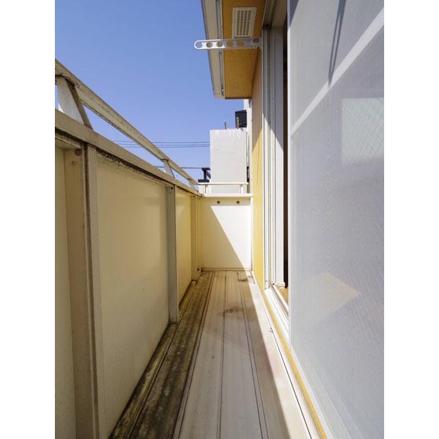 平町1丁目アパート -号室のバルコニー