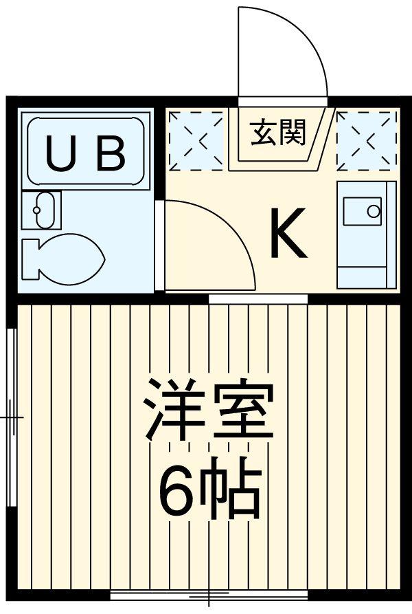 TOSHIハウス 202号室の間取り
