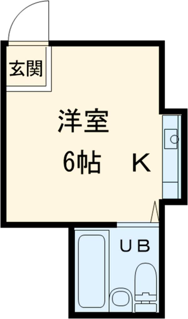 TOSHIハウス 203号室の間取り